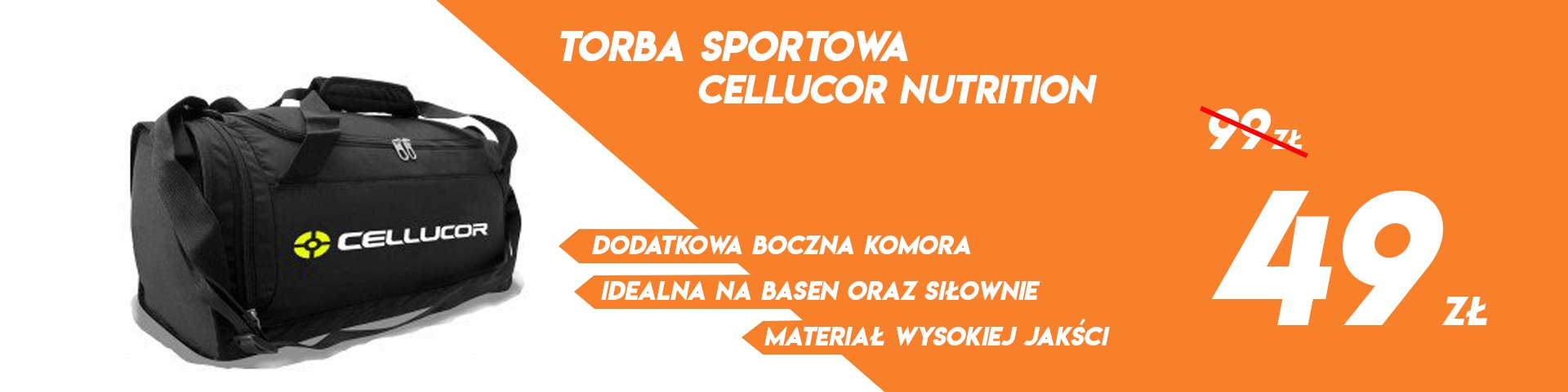 Torba sportowa Cellucor Nutrition