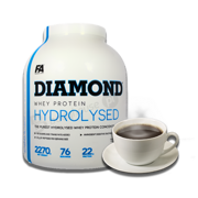 FA Diamond Hydrolysed Whey 2270g Coffee
