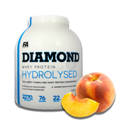 FA Diamond Hydrolysed Whey 2270g Peach