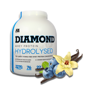FA Diamond Hydrolysed Whey 2270g Vanilla Blueberry