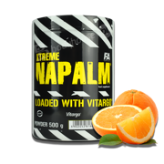 FA Napalm Loaded With Vitargo 500g Orange.
