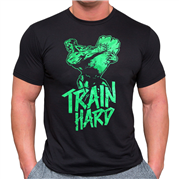 T-shirt Train Hard L.