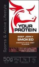 Your Protein Beef Jerky 50g Smoked