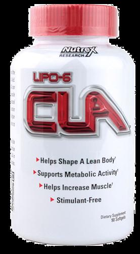 Nutrex Lipo 6 CLA 45caps   Suplementy  Spalacze tłuszczu