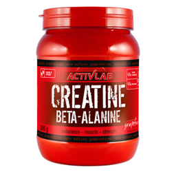 Activlab Creatine + Beta Alanine 300g Lemon