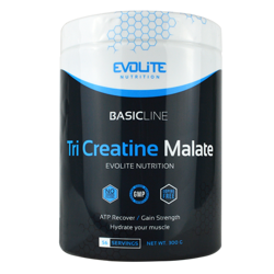 Evolite Tri Creatine Malate 300g Crazy Orange
