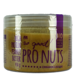 FA So good! Pro Nuts Butter 450g Cinnamon Raisin