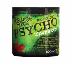 Muscle Junkie Psycho Hyperactive 200g Cherry