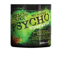 Muscle Junkie Psycho Hyperactive Fruit Punch DISC