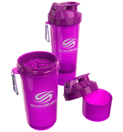 Smart Shake Slim 400ml + 100ml Neon Purple