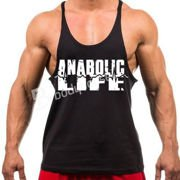 Anabolic Life Tank Top Black S