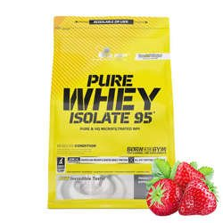 Olimp Pure Whey Isolate 95 600g Strawberry