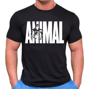 Universal Animal T-Shirt Black