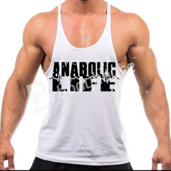 Anabolic Life Tank Top White L