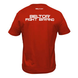 Beltor T-shirt Fight Brand Classic Red L