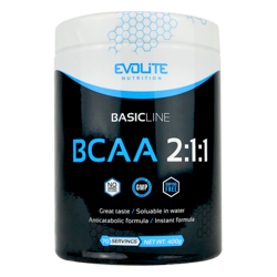 Evolite BCAA 2:1:1 400g Crazy Orange