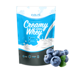 Evolite Creamy Whey 700g Blueberry