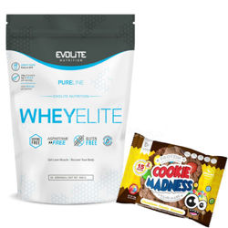 Evolite WheyElite 900g + Cookie Madness Gratis!