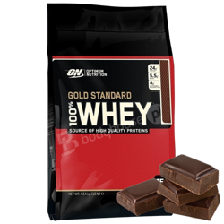 ON 100% Whey Gold 4540g Chocolate