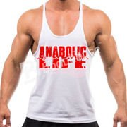 Anabolic Life Tank Top White-Red S