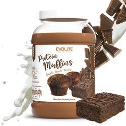 Evolite Protein Muffins 1000g Chocolate Brownie